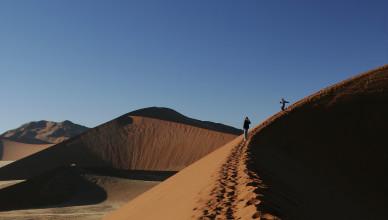 No deserto ou no sucesso