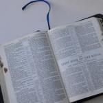Coisas que a Bíblia não resolve…
