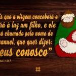 Mais de Jesus no Natal e sempre!